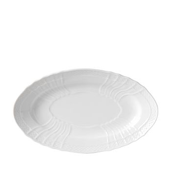 Richard Ginori - Vecchio White Oval Accent Plate