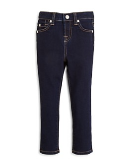 7 For All Mankind - Girls' Dark Indigo Skinny Jeans - Little Kid