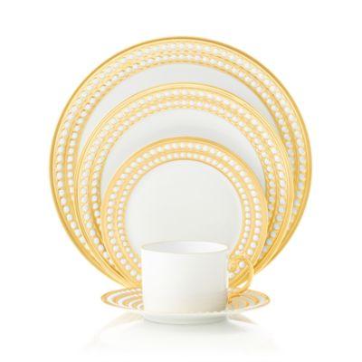 Perlee Gold Espresso Cup & Saucer