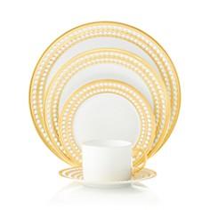 L'Objet Perlee Gold Dinnerware - Bloomingdale's_0