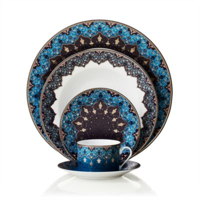 Dhara Peacock Bread & Butter Plate