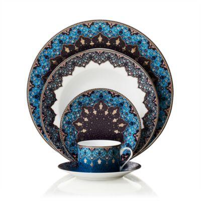Dhara Peacock Rectangular Cake Platter
