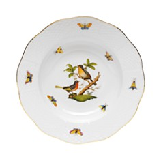 Herend Rothschild Bird Rimmed Soup Bowl, Motif #8 - Bloomingdale's_0