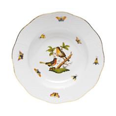 Herend - Rothschild Bird Rimmed Soup Bowl, Motif #8