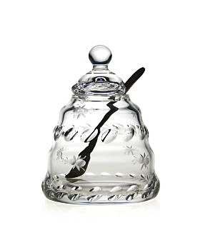 William Yeoward Crystal - Buzzy Honey Jar by William Yeoward