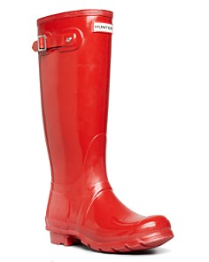Hunter - Women's Womens' Original Tall Gloss Rain Boots