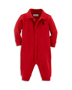 Ralph Lauren - Boys' Interlock Solid Coverall - Baby