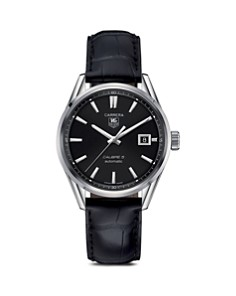 TAG Heuer Carrera Calibre 5 Stainless Steel Watch, 39mm - Bloomingdale's_0