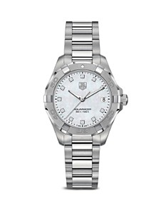 TAG Heuer Aquaracer 300M Quartz Stainless Steel Watch with Diamonds, 32mm - Bloomingdale's_0