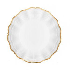 Medard de Noblat Corail Or Dinner Plate