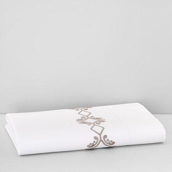 SFERRA - Argento Flat Sheet, Full/Queen - 100% Exclusive