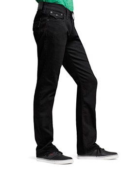 True Religion - Ricky Relaxed Fit in Black Midnight