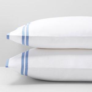 Matouk Meridian Standard Pillowcase, Pair