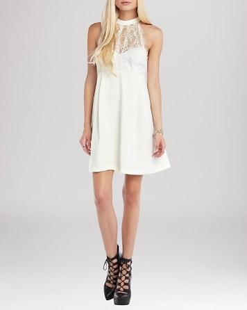 $BCBGeneration Dress - Lace Accent - Bloomingdale's