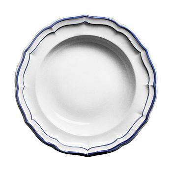 Gien France - Filets Rimmed Soup Bowl