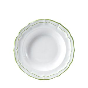 Gien France Filets Rimmed Soup & Pasta Bowl