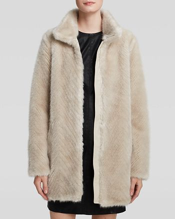 GUESS - Maela Faux Fur Coat