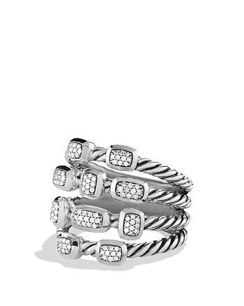 David Yurman - Confetti Ring with Diamonds