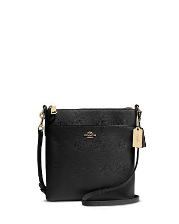 COACH - North/South Swingpack in Embossed Textured Leather
