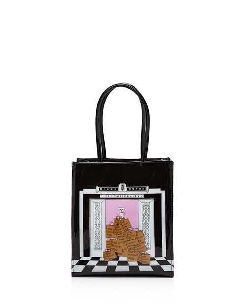 Bloomingdale S Small Dog Elevator Tote 100 Exclusive