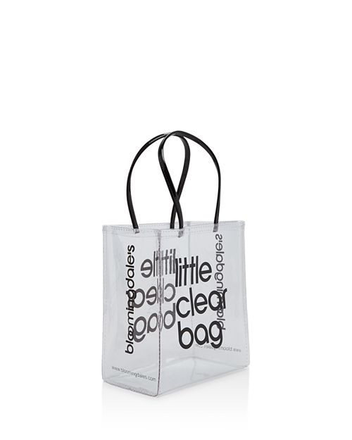 Bloomingdale S Little Clear Bag 100 Exclusive