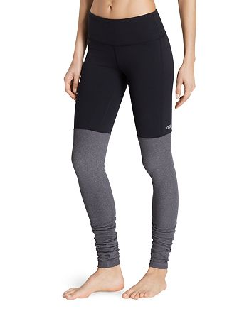 Alo Yoga - Goddess Ribbed Leggings