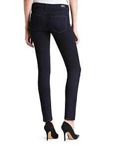 PAIGE - Transcend Skyline Skinny Jeans in Mona
