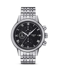 Tissot Carson Men's Black Automatic Chronograph Classic Watch, 42mm - Bloomingdale's_0