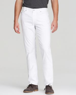 Ag Jeans - Graduate New Tapered Fit in White