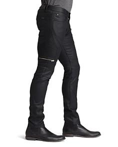 HUGO - 45 Moto Slim Fit in Black