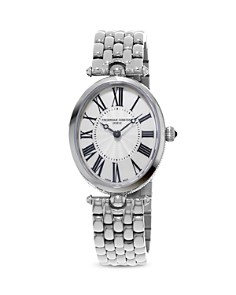 Frederique Constant Classics Art Deco Stainless Steel Watch, 30mm - Bloomingdale's_0