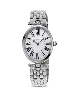 Frederique Constant - Classics Art Deco Stainless Steel Watch, 30mm