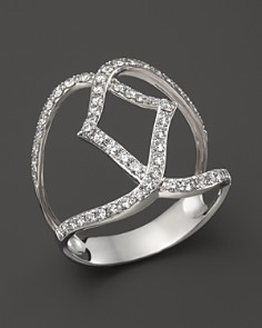 Diamond Geometric Ring in 14K White Gold, .70 ct. t.w. - 100% Exclusive - Bloomingdale's_0