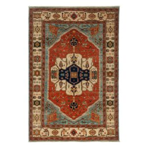 Adina Collection Oriental Rug, 6'4 x 9'1