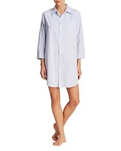 Lauren Ralph Lauren Heritage Essentials His Shirt Sleepshirt - Bloomingdale's_0