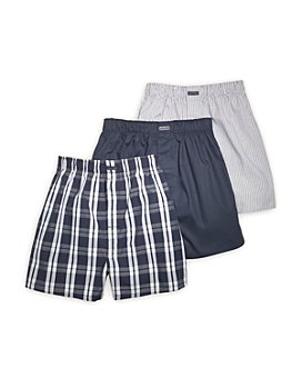 Calvin Klein - Cotton Classics Woven Boxers, Pack of 3