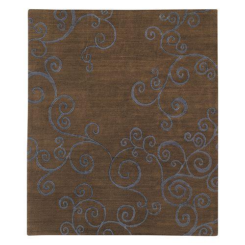 Tufenkian Artisan Carpets - Zephyr Midnight Area Rug, 8' x 10'