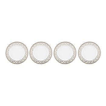 Lenox - Opal Innocence Silver Bread & Butter Plate, Set of 4