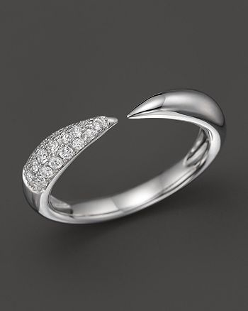 Bloomingdale's - Diamond Claw Ring in 14K White Gold, .20 ct. t.w. - 100% Exclusive