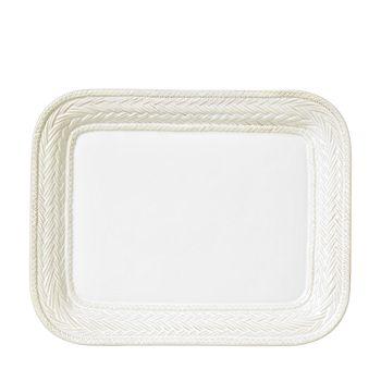 """Juliska - Le Panier Whitewash 14.5"""" Platter"""