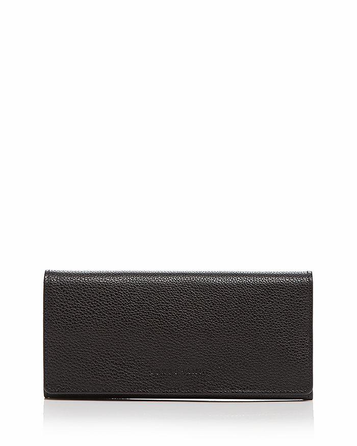 Longchamp VEAU FOULONNE CHECKBOOK WALLET