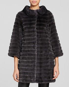 302fde326e Maximilian Furs - Corduroy Mink Coat ...