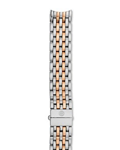 MICHELE Serein Two-Tone Stainless Steel & Rose Gold 7-Link Watch Bracelet, 16mm - Bloomingdale's_0