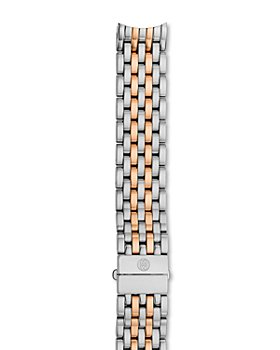 MICHELE - Serein 16 Two-Tone Stainless Steel & Rose Gold 7-Link Watch Bracelet, 16mm
