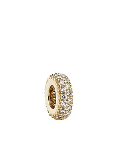 PANDORA Spacer - 14k Gold & Cubic Zirconia Inspiration Within, Moments Collection - Bloomingdale's_0