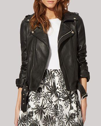 Maje - Jacket - Bocelui Leather