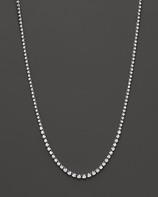and oval white created stone graduated deal on necklace five zales sapphire in silver w t amazing ct lab shop diamond sterling