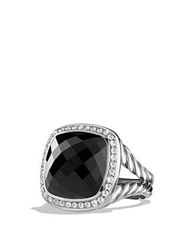 David Yurman - Albion Ring with Gemstone and Diamonds