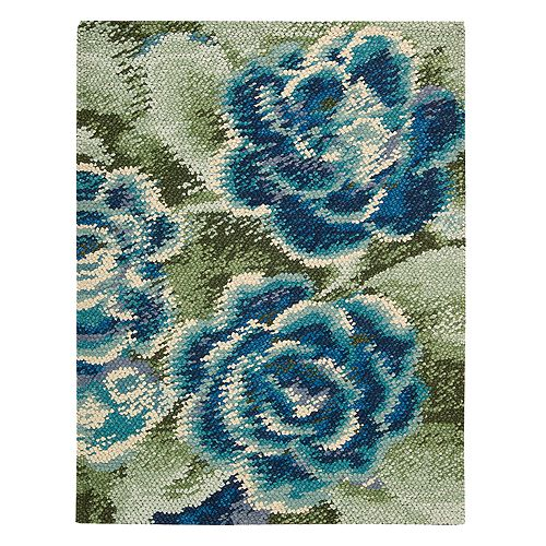 "Nourison - Impressionist Collection Area Rug, 5'6"" x 7'6"""