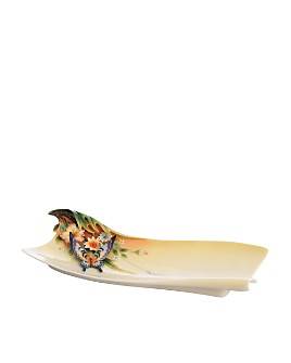 Franz Collection - Fluttering Beauty Butterfly Plate